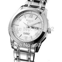 New Arrival Kassaw Male Luxury Sapphire Watch Business Casual Dual Calendar Mens Luminous Waterproof Gentlemen Summer Watches