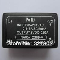 10pcs AC-DC converter/Inverters 220V to 9V 5W ac dc Power module NA05-T2S09-V Free shipping