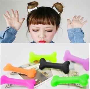 48pcs(24 pairs)Free Shipping Fashion skeleton hair clip hairpin Zombie Punk Bone hairwear hairpin bobby pins