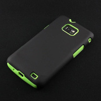 New Scrub Polycarbonate Silicone Back Case for Samsung Galaxy S2 i9100 SX27