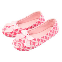 Hot Selling Pregnant Women Shoes comfortable non-slip shoes Lili Shoes yoga soft TPR bottom shoes With Bowtie Slip-om Shoes