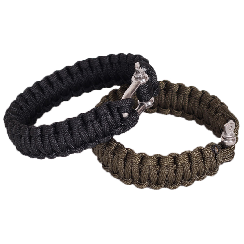 Outdoor 7 core risers outdoor emergency quick release bracelet(China (Mainland))