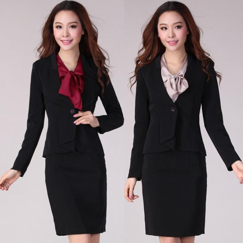 Ol work wear student set professional women clothing fashion autumn