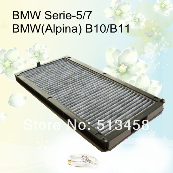 CUK3338 low price wholesale black carbon car cabin air filter for BMW 64311390836 auto part 32.7*16.4*3.5cm AC-0078(China (Mainland))