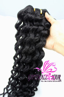 "12""-28""AAAAA  Deep Wave Brazilian Virgin Remy Hair Extension,2pc lot,can mixed length,12""-28""GIFTSMALL QUEEN HAIR DHL FREE SHIP"