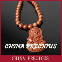 Free shipping 3A grade Energy healing pendant/ Magic Health red Stone Needle/ Eliminate toxin, beautify skin, delay ageing