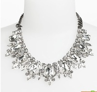 New fashion popular women's personality temperament crystal necklace wholesale and retail free shipping