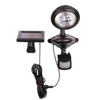 3led Solar mostion sensor lamp LED pir infrared sensor led lighting  Solar security lights