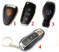 1pcs retail car key usb flash drive 2/4/8/16/32GB usb 2.0 flash drive 4 style usb drive