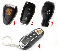 1pcs retail car key usb flash drive 2/4/8/16/32GB usb 2.0 flash drive 4 style usb drive