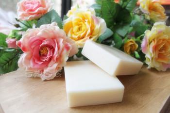 Lemon whitening tremella soap - - handmade soap whitening rejuvenation - - drawing