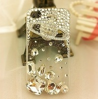 Gems satellite crystal phone case for 5G/5s 4/4s  free shipping