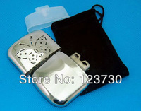Freeshipping Indoor and Outdoor Available Pocket Stainless Steel Hand Warmer MH001
