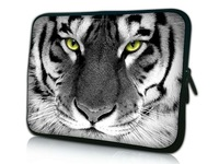 "Gray Tiger 9"" 10"" 10.1"" 10.2"" Inch Neoprene Laptop Notebook Netbook AntiShock Case Sleeve Cover Pouch Bag HOT!"