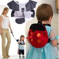 Batman Baby Kid Keeper Toddler Walking Safety Harness Backpack Bag Strap Rein Bat Free shipping