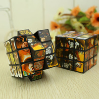 Large magic cube rotating child toy night market