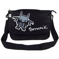 Spywalk casual shoulder bag male student school bag preppy style messenger bag