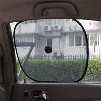 Min Order $15(mixed order)  Stoopable sun-shading  car sun-shading sunscreen set summer car sunshade  3124