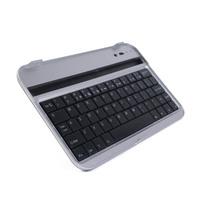 "Wireless bluetooth keyboard case mini pc keyboard aluminum case keyboard for Samsung Tab 2 7"" P3100 /P3110 /6200 Free shipping"