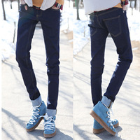 Skinny pants Men's clothing base 2014 slim  jeans denim trousers big brand men jeans skinny pants male fashion jeans for men