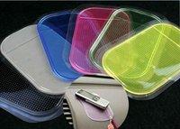 Powerful Silica Gel Magic Sticky Pad Anti-Slip Non Slip Mat for Phone PDA mp3 mp4 Car Multicolor Free shipping