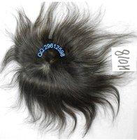 Real human hair hand-woven bangs hair piece 16x16cm .Free Shipping
