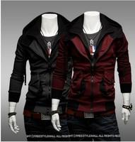 Hot free Shipping 2014 New Casual Brand Men Sport Varsity Jacket Coat Fashion Bomber Winter Jacket For men 2 Colors M-XXL