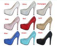 Shining Fashion Wedding/Party/Banquet Shoes With Full Rhinestone ,Totally Handmade with High Quality ,Free Shipping