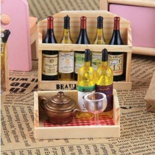barato americanos estilo pastoral ímã originalidade geladeira garrafa de vinho refrigerador(China (Mainland))