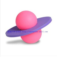 Free shipping Hot sell toy for children Bouncing Fitness Jump ball Presented pump lose weight ball purple and red