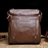 Free shipping Deelfel casual trend vintage messenger bag man bag male backpack vertical messenger bag