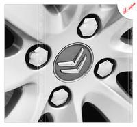 PEUGEOT408 307 206 207 SEGA CITROEN c2 c5 aluminum alloy original tyre/tire screws cap