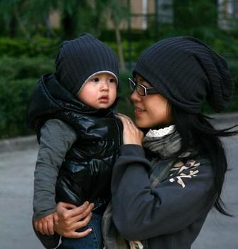 Free  Shipping Winter baby cap Kids hats Cotton Beanie Infant cap children baby hat  women hats