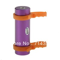 Free shipping Mp3 8GB Swimming Diving Water IP*8 Waterproof MP3 Player + Earphone +FM Radio Earphone-Purple