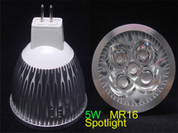 MR16 12V 5W  White 450 Lumens 5LED Spotlight Bulb Free shipping