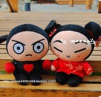 PUCCA and Garu Chinese baby doll plush toys wedding gift press han edition cartoon cute doll