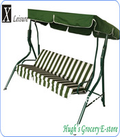 Popular durable mainstays 3 seats swing chair