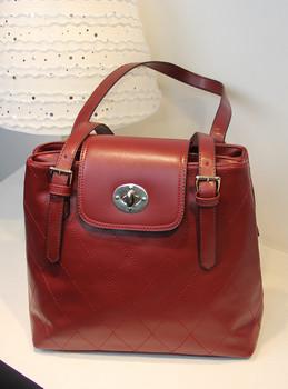 Plaid women's handbag female vintage bag double layer flip handbag fashion preppy style messenger bag