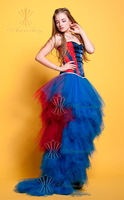 New Fashion Daisy Gothic Corset Burlesque Prom Dress For Sale 2013