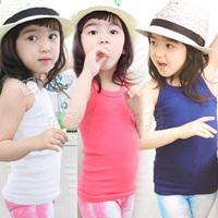 2014 summer brief girls clothing baby child spaghetti strap vest tx-0773 K1902