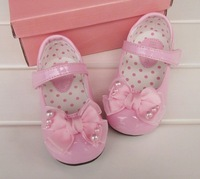 Free Shipping (6 Pairs/lot)2012 New Hi Mum Girl Shoes 3 Colors Cream,Pink,black Sizes:13.5 14 14.5 15 15.5 16