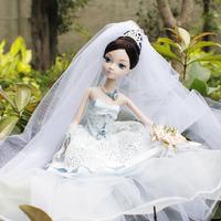 Кукла 29cm tall Kurhn Doll kerr sweet good night baby bed group 6105 8614