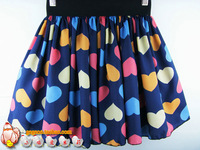 2013  new arrival women's skirt chiffon bust skirt princess sheds high waist skirt cotton skirt love skirt pleated skirt