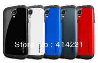 10pcs/lot NEW Arrive SLIM ARMOR SPIGEN SGP case for Samsung galaxy s4 SIV i9500 shipping free