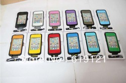 Free Shipping Waterproof Life proof Case for iPhone 4 4s Waterproof Shockproof Dirtproof shell protector(China (Mainland))