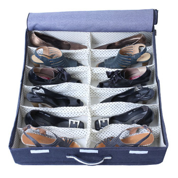 Denim bed series shoes drawer storage box storage box storage box storage box