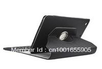 For Ipad mini 360 degree rotating bluetooth Keyboard case High quality PU, Litchi strain+Free shipment