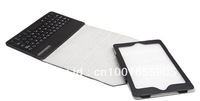 360 Degree Rotating Bluetooth keyboard case for iPad Mini High quality PU, Litchi strain free shipment
