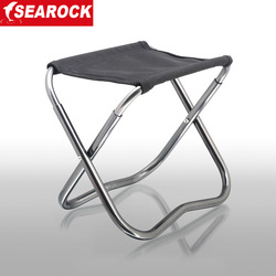Outdoor multifunctional folding stool fishing chair aluminum alloy mazha fishing stool small Large(China (Mainland))