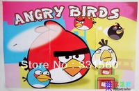 Free shipping,paper poster ,birthday party favor,party decoration,Bird theme,party supply,all factory direct sales